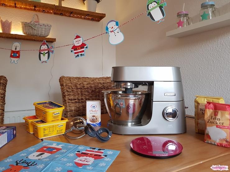 Die Kenwood Weihnachtsbäckerei - Rezept Für Kunterbunte